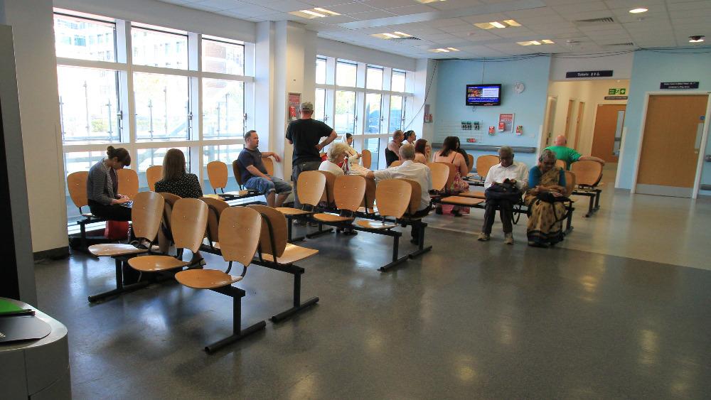 Hospital Emergency Full Waiting Room