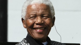 Nelson Mandela pictured during a visit to London in 2007.