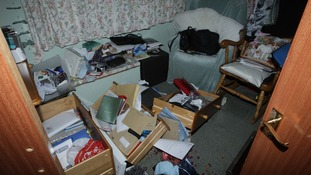 A ransacked property