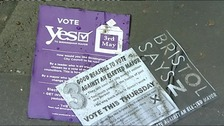 Yes Vote posters