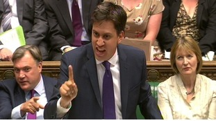 Labour party leader Ed Miliband 'gave as good as he got' during today's PMQs.