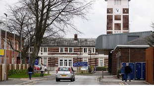 A general view of the Trafford General Hospital in Manchester.