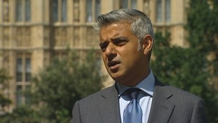 Labour's Shadow Justice Secretary Sadiq Khan