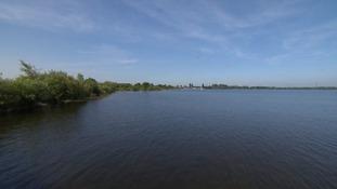 Chasewater Dam.