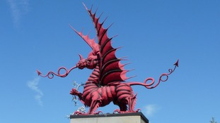 Mametz Welsh memorial