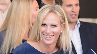 Zara Phillips, who announced this week she was pregnant