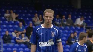 Ipswich Town midfielder Grant Leadbitter