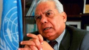 Egypt's interim prime minister Hazem el-Biblawi.