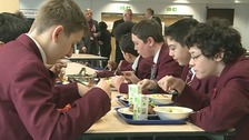 The School Food Plan suggests school meals are more nutritious than packed lunches.