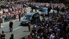 Thousands turned out to remember Fusilier Lee Rigby.