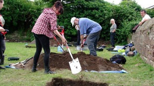 Volunteers unearth history in Bromborough