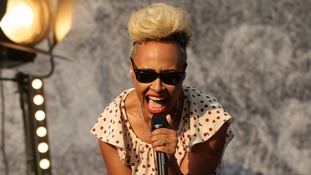 Emeli Sande also performed on Saturday.