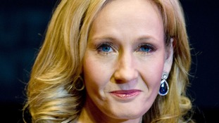 Best-selling Harry Potter author JK Rowling.