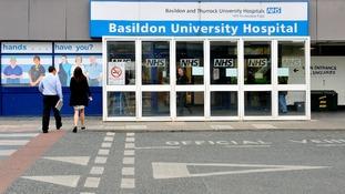Basildon University Hospital,