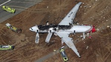 Two teenage girls died after the plane crash landed in San Franciso airport on Saturday.
