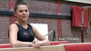 Raer Theaker, Wales and GB Gymnastics
