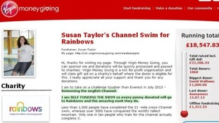 Susan Taylor's fundraising page