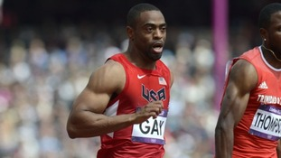 Adidas suspends its contract with Tyson Gay