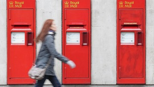 Royal Mail post boxes