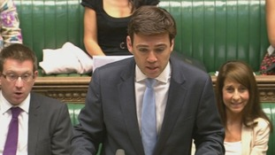 Shadow health secretary Andy Burnham in the House of Commons.