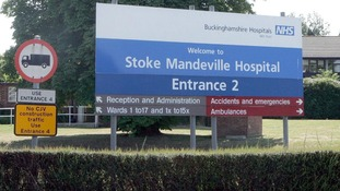 Stoke Mandeville Hospital, which is part of the Buckinghamshire Healthcare NHS Trust.