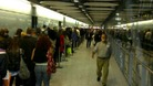 The queue at Heathrow.