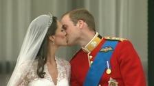 The Royal couple on the balcony