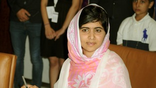 Malala Yousafzai spoke at the UN on her 16th birthday.