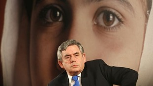 UN Special Envoy for Global Education Gordon Brown.