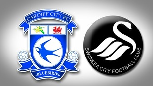 Cardiff City & Swnasea City badge