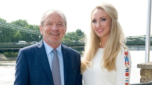 Lord Sugar unveils Leah Totton as the winner of The Apprentice