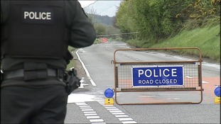 Bomb found near Irish border