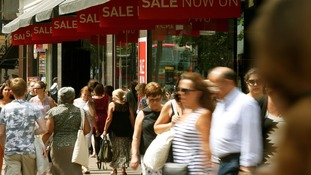Discounts drive retail sales boost.