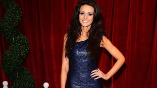 Michelle Keegan arriving at The British Soap Awards 2012