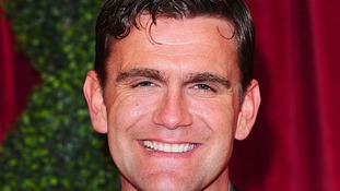 Scott Maslen arriving at The British Soap Awards 2012