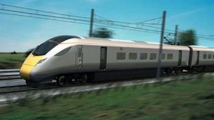 New 800 series train