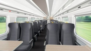 Inside the new 800 series train