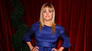 Jo Joyner arriving at The British Soap Awards 2012