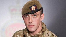 Guardsman Michael Roland, from 1st Battalion Grenadier Guards.
