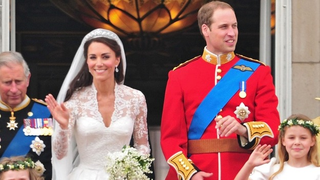 Royal wedding anniversary itv news