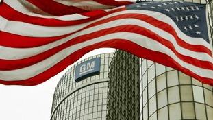 General Motors' Global Headquarters in Detroit, Michigan.