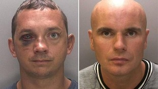 Adrian Stanton and Lee Wildman, from Walsall