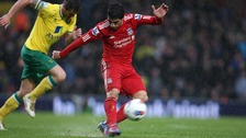 Suarez completes hat-trick