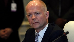 British Foreign Secretary William Hague has welcomed the Middle East talks progress.