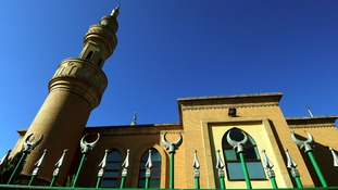 General view of Wolverhampton Central Mosque.