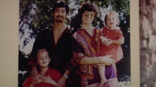 A family portrait of Bruce Lee