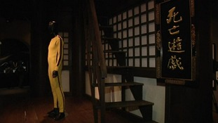 The tracksuit worn by Bruce Lee in Game of Death