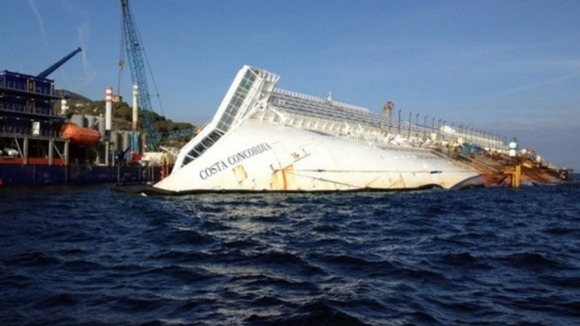 Costa Concordia Bridge
