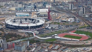 The Olympic Stadium site