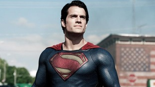 Henry Cavill as the Man of Steel, which has taken in more than £413 million at the box office to date.